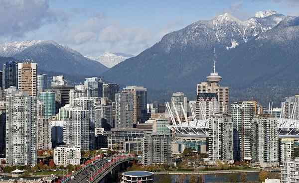 WEST-COAST Kanada Vancouver - Grouse Mountains, Cambie Bridge